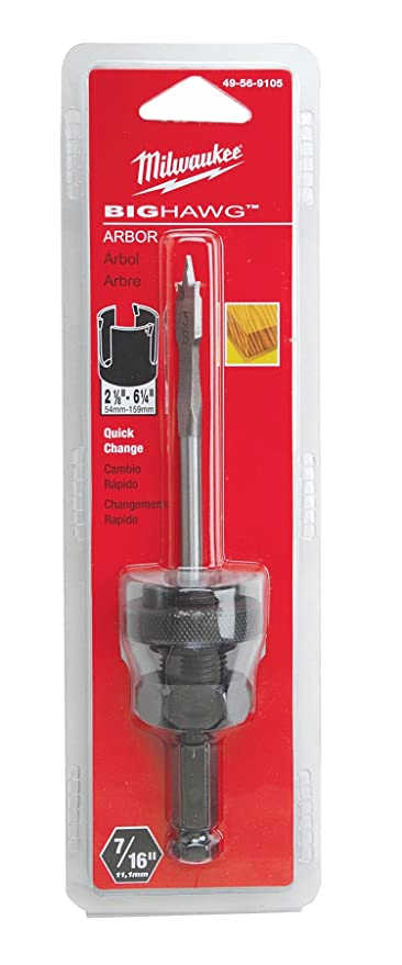 //WSL// MILWAUKEE 49-56-9105 BIG HAWG ARBOR INCLUDES 3/8