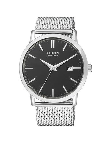 Citizen Hombre Reloj de Pulsera analógico Cuarzo Acero Inoxidable BM7190 - 56H: Amazon.es: Relojes