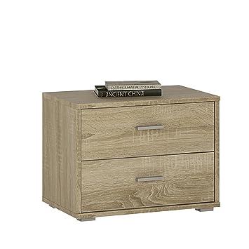 Furniture To go 4 You - Mesita de Noche Baja (2 cajones ...
