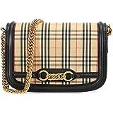 ac14967d1d Burberry Small Vintage and Check Crossbody Bag- Regency Blue ...