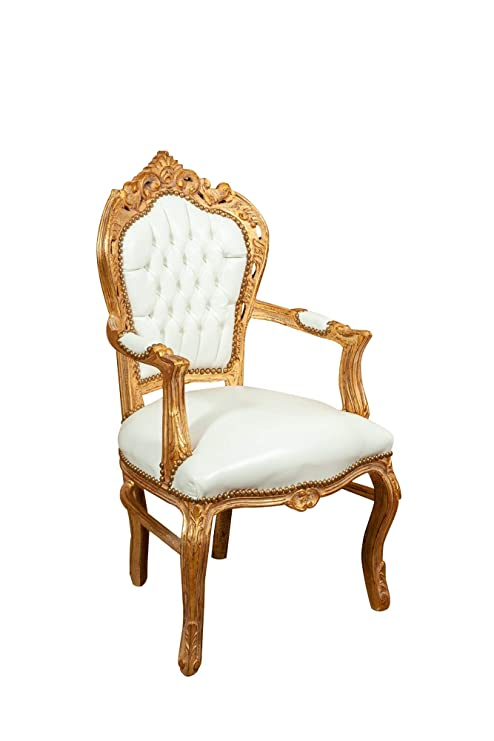 Biscottini - Sillón Estilo francés Luigi XVI de Madera ...