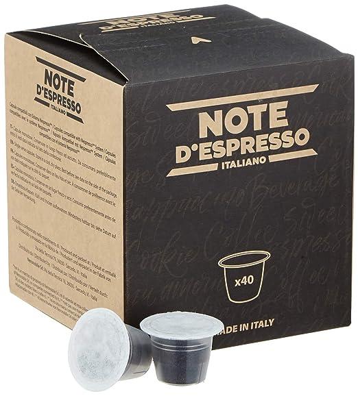 Note DEspresso - Cápsulas de té negro compatibles con cafeteras ...