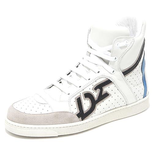 DSQUARED - Zapatillas para hombre Blanco blanco 41.5: Amazon.es: Zapatos y complementos