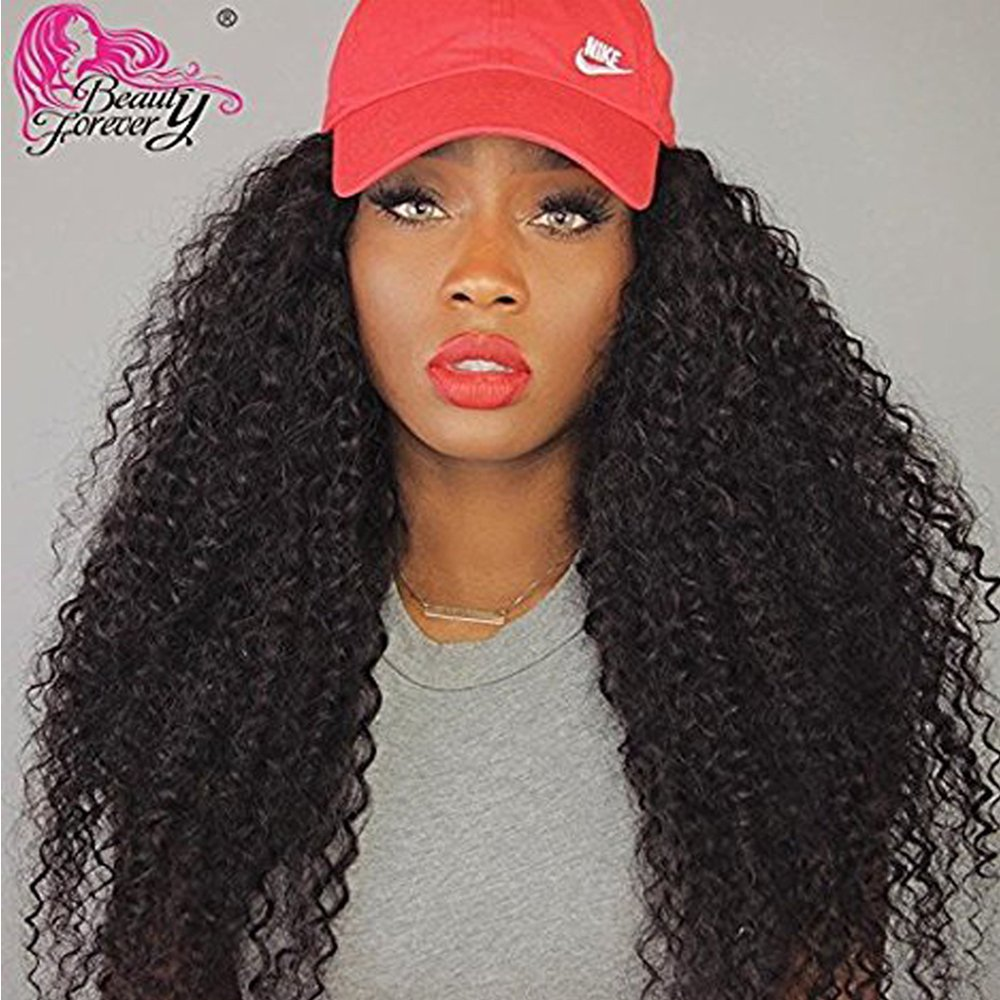 Beauty Forever Hair 7a Malaysian Deep Curly Hair Weave 3pcs Bundle/ pack 100% Unprocessed Human Virgin Remy Hair Extensions Dyeable Hair Deals Natural Color(20 22 24+18 Free Part Closure)