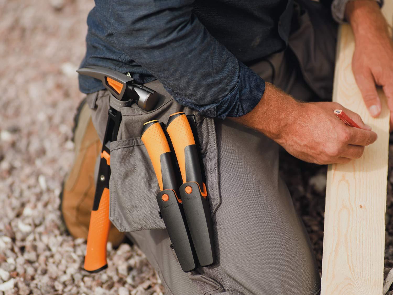 Noir//Orange Pour clouer 1020214 0,91 kg Fiskars Marteau de coffreur IsoCore L 34 cm
