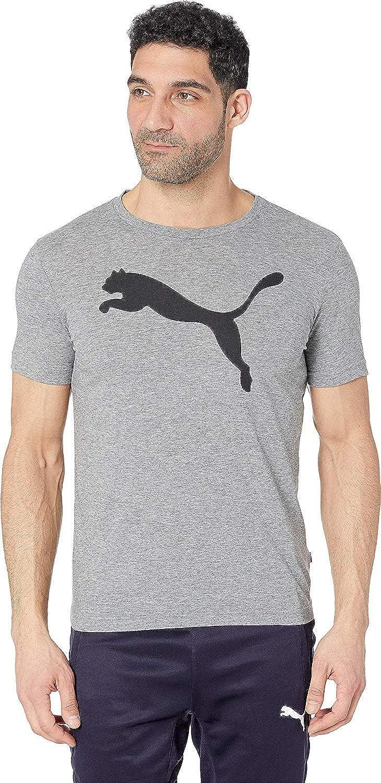 PUMA Mens Elevated Essentials Big Cat Logo Tee