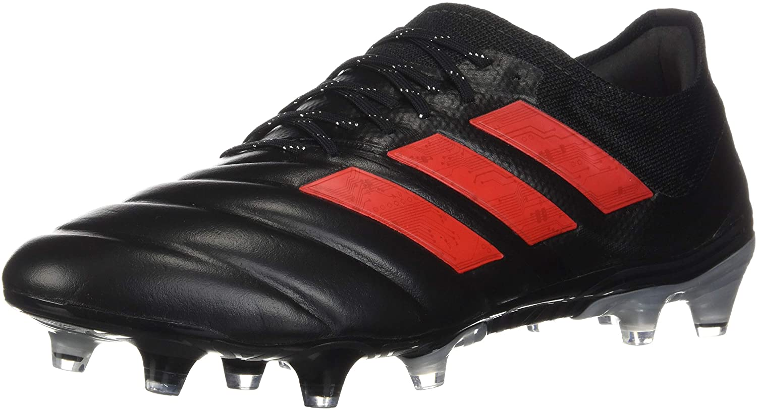 adidas Copa 19.1 FG Cleat - Men's Soccer Black Red