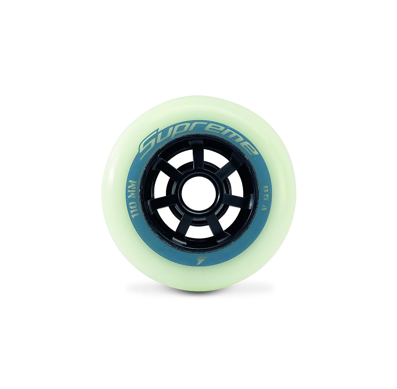 Rollerblade Supreme High Performance Skate Wheels Pack of 8
