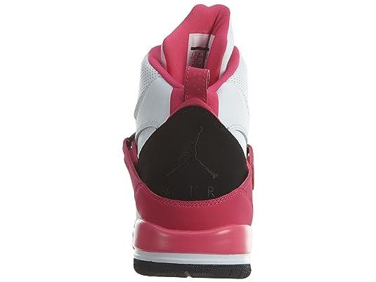 Amazon.com   Jordan Flight 45 High GG White/Black-Vivid Pink (9.5 M US Big Kid)   Golf