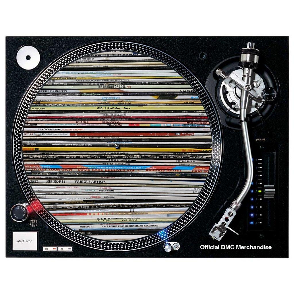 Technics/DMC vinilo Junkie – Patinador para tocadiscos (1 par ...