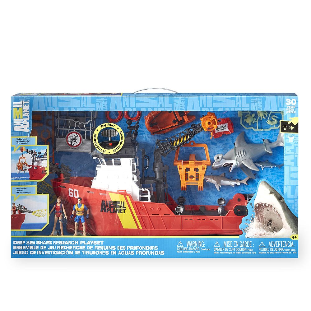 Animal Planet Deep Sea Shark Research Playset