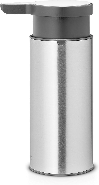 Brabantia Savon Distributeur en acier mat 10 Yr Garantie lavage à la main 481208