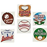 Fun Express Temporary Baseball Tattoos (6 Dozen)