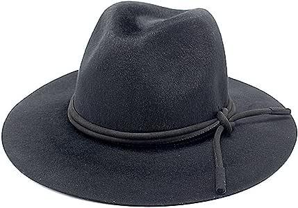 El nuevo 2018 otoño e invierno moda Jazz lana sombrero sombrero ...