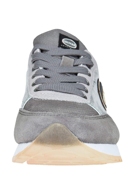 COLMAR Damen Sneaker Travis Punk 119 Struktur-Mix Struktur-Mix 119 Light Grau/ Dark Grau f419df