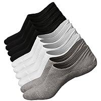 5 ou 6 Paires Homme Basses Chaussettes Antiglisse des Chaussettes Décontractées