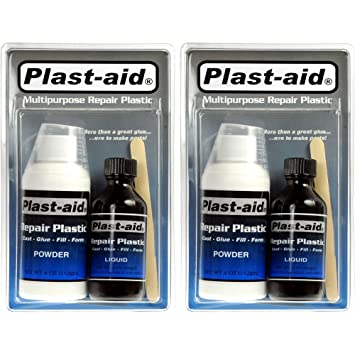 Abs Plastic Repair Kit >> 2 Pack Plast Aid Acrylic Pvc Abs Cpvc Plastic Repair Kit 2 X 6