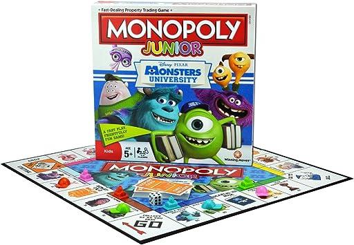 Monopoly - Juego de Tablero, de 2 a 4 Jugadores (Winning Moves 20565) (versión en inglés): Amazon.es: Juguetes y juegos