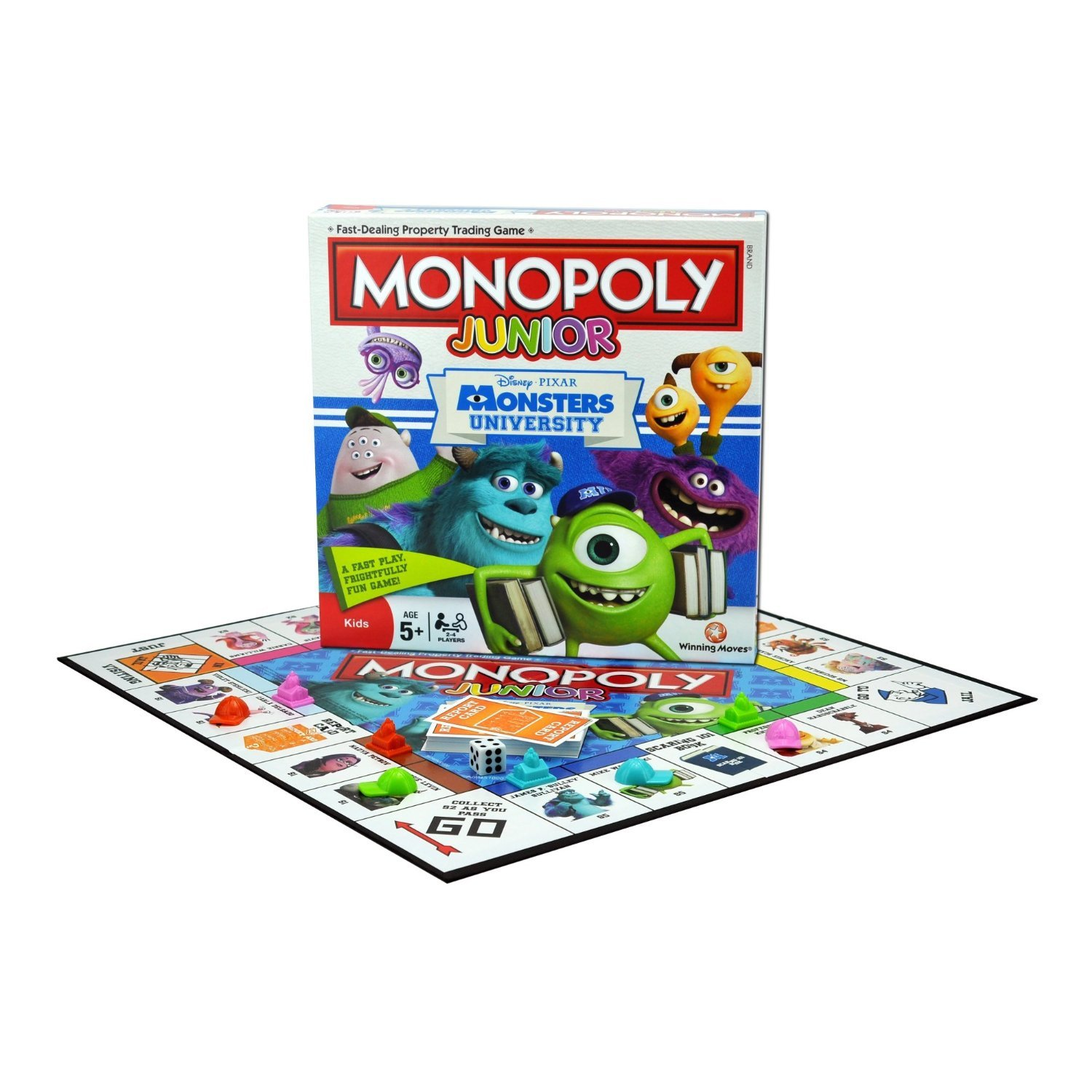 Monsters University Monopoly Junior Board Game Amazon Toys