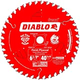 Diablo by Freud D0641 X 6-1/2 by 40 Finishing Saw Blade 5/8 Arbor (1 per pack)
