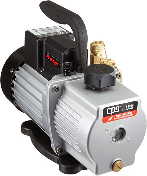 CPS VP6D 6 CFM 2 Stage Vacuum Pump