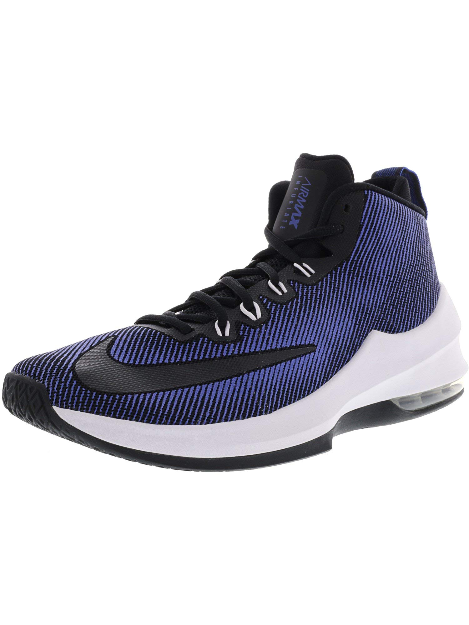 Galleon - NIKE Air Max Infuriate Mid Basketball Shoes (8.5 D(M) US ... 582b8590c