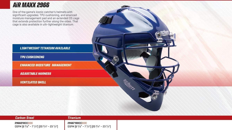 New Schutt Adult Baseball//Softball Catchers Helmet