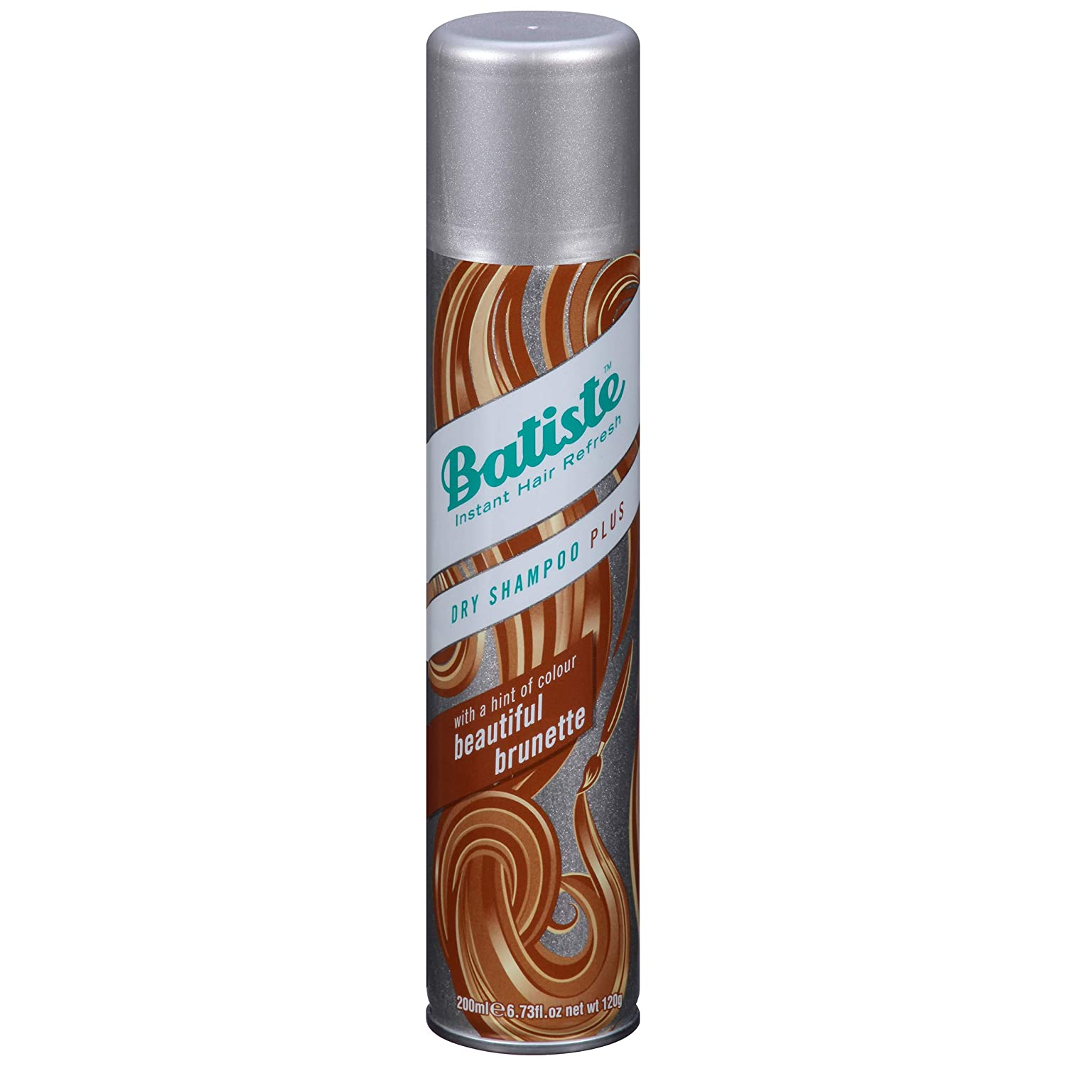 Batiste Beautiful Brunette Dry Shampoo, For Brown & Auburn Hair, 200-ml Church & Dwight 3624673