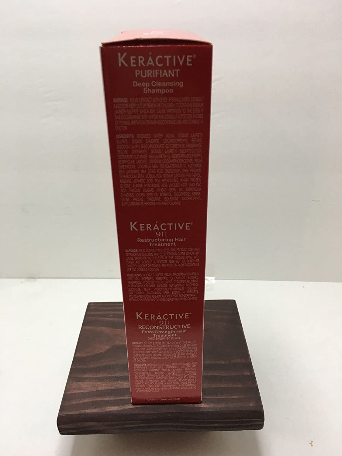 Amazon.com : KERACTIVE HAIR CARE INTEGRAL INTENSE HAIR TREATMENT SET, TRATAMIENTO INTENSO : Beauty