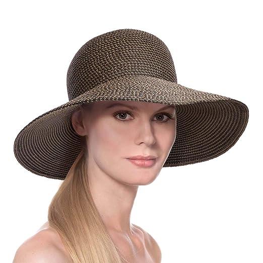 Amazon.com  Eric Javits Luxury Women s Designer Headwear Hat - Hampton -  Antique  Clothing ac8a97c4a8a9