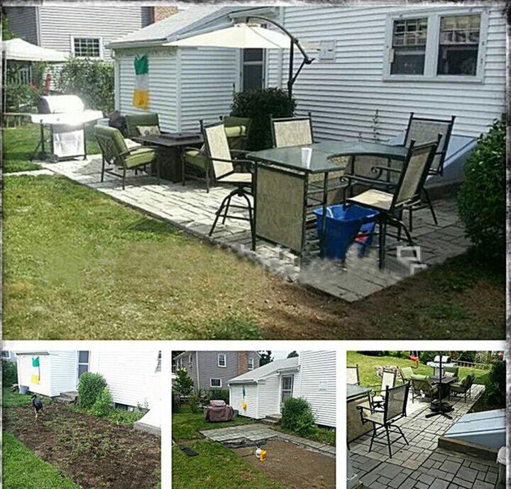 Amazon.com : Yosoo DIY Driveway Paving Brick Patio Concrete Slabs Path Garden Walk Maker Mould : Garden & Outdoor