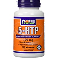 Now Foods, 5-HTP 100 mg Vegetarian, 240 Capsules (120 x 2 Pk)