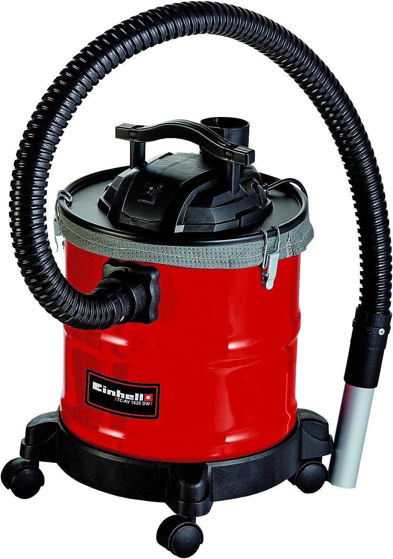 Einhell 2351665 Aspirador de ceniza, Negro, Rojo