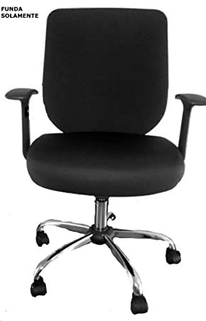 FUNDA para silla de oficina (Funda Solamente) caber 47x50cm respaldo ...