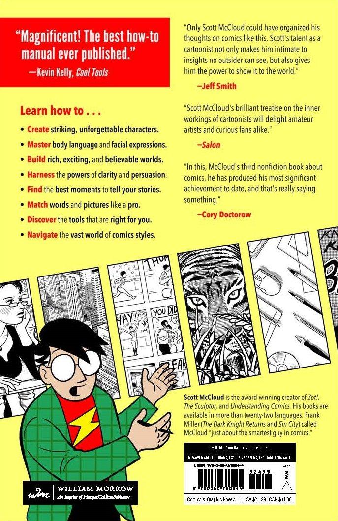 Making Comics: Storytelling Secrets of Comics, Manga and Graphic Novels by William Morrow