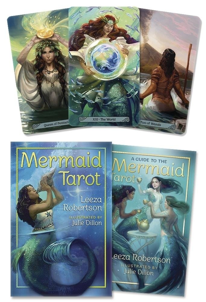 Mermaid Tarot: Amazon.es: Leeza Robertson, Julie Dillon ...