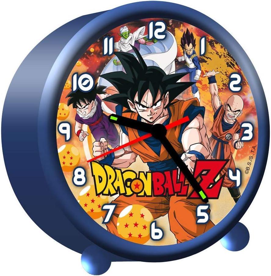 Despertador Dragon Ball Z redondo: Amazon.es: Equipaje