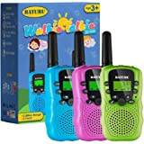 Kids Walkie Talkies 3 Pack, Walky Talky Toys for Boys & Girls, 2 Way Radio Toys for Kids Age 4-10 Years Old