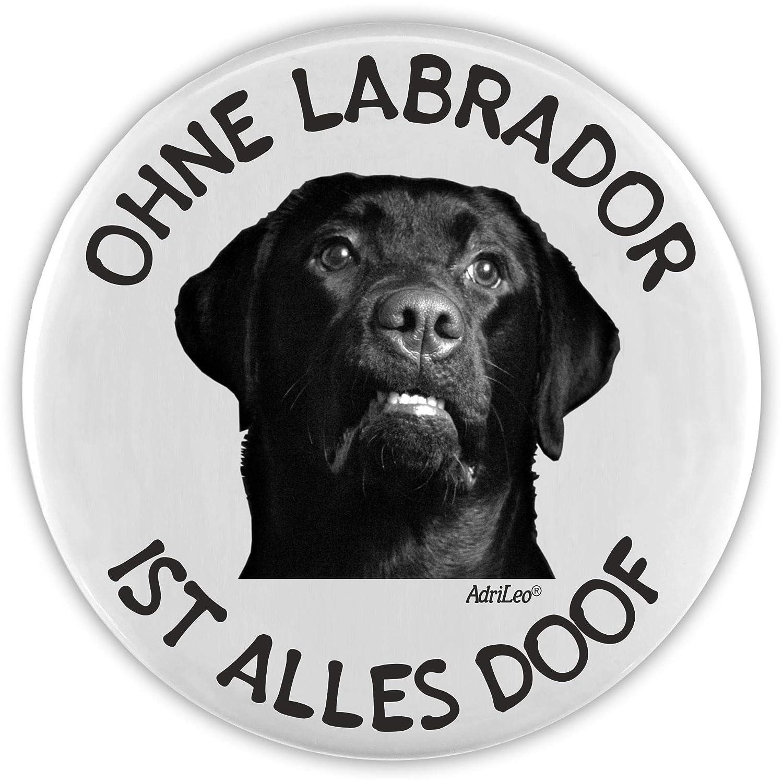 AdriLeo Flaschenöffner Ohne Labrador ist Alles doof! (schwarzes Fell)