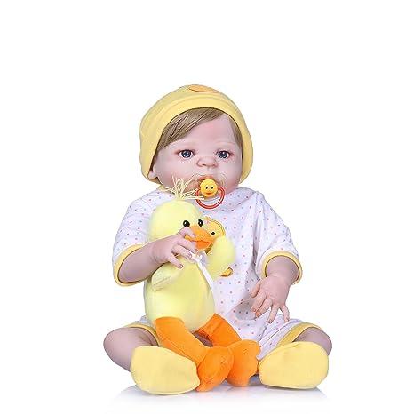 Amazon.es: Nicery Reborn - Muñeca de bebé (vinilo alto, 50 - 55 cm ...