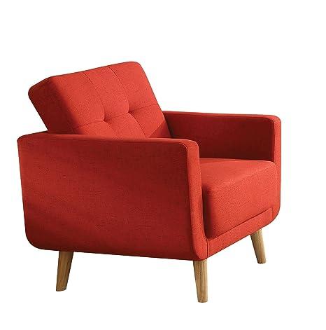 Amazon.com: Acme Muebles 52662 sisilla silla, lino), color ...