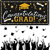 CHALA Congratulations Grad Banner,2020 Graduation Party Backdrop Cloth