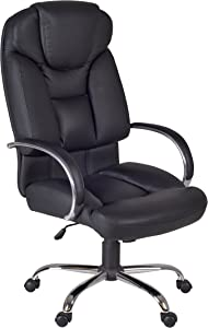 Regency Goliath Big and Tall Swivel Chair, Black