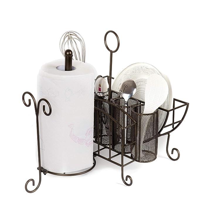 Amazon.com: VANRA - Organizador de buffet de metal, para ...