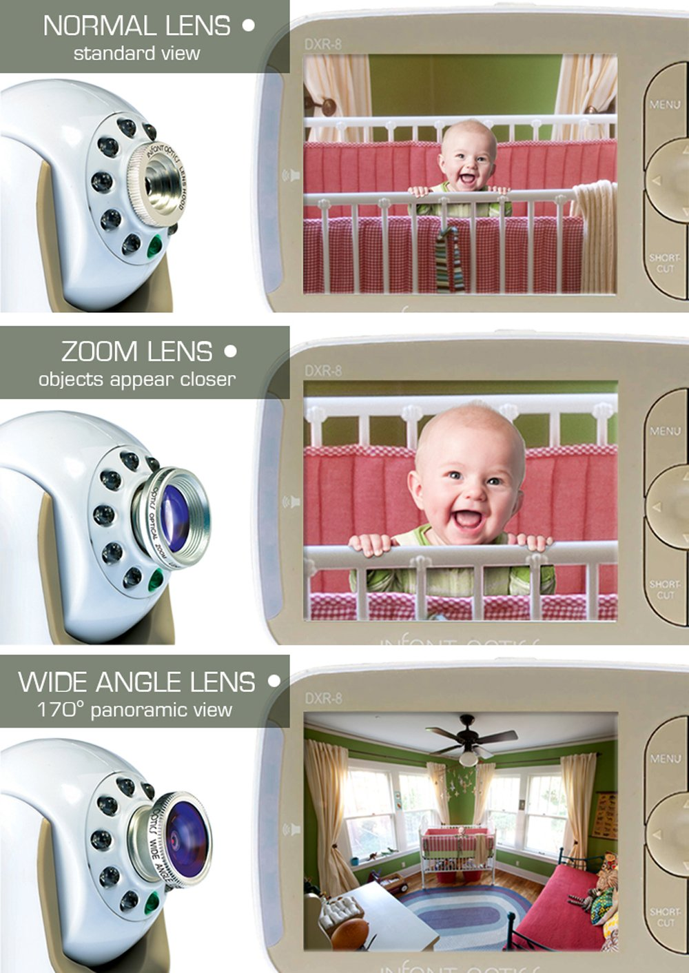 Infant Optics Add-On Camera Unit for Infant Optics Dxr-8 by Infant Optics