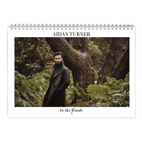 Calendario Boschi.Aidan Turner Nel Bosco 2018 Calendario 2019 Calendario Da