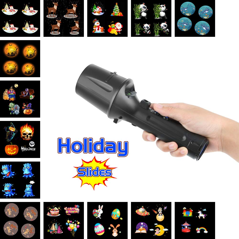 Elec3 Christmas Halloween Projector Light for Lighting Decorations (5W Projection Flashlight) by Elec3 (Image #3)
