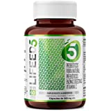 LF5 PROBIOTICOS 50 Billones + Prebioticos Enzimas Digestivas Fibra y Vitamina C | Para 60 días | Sistema Inmune Digestivo | L