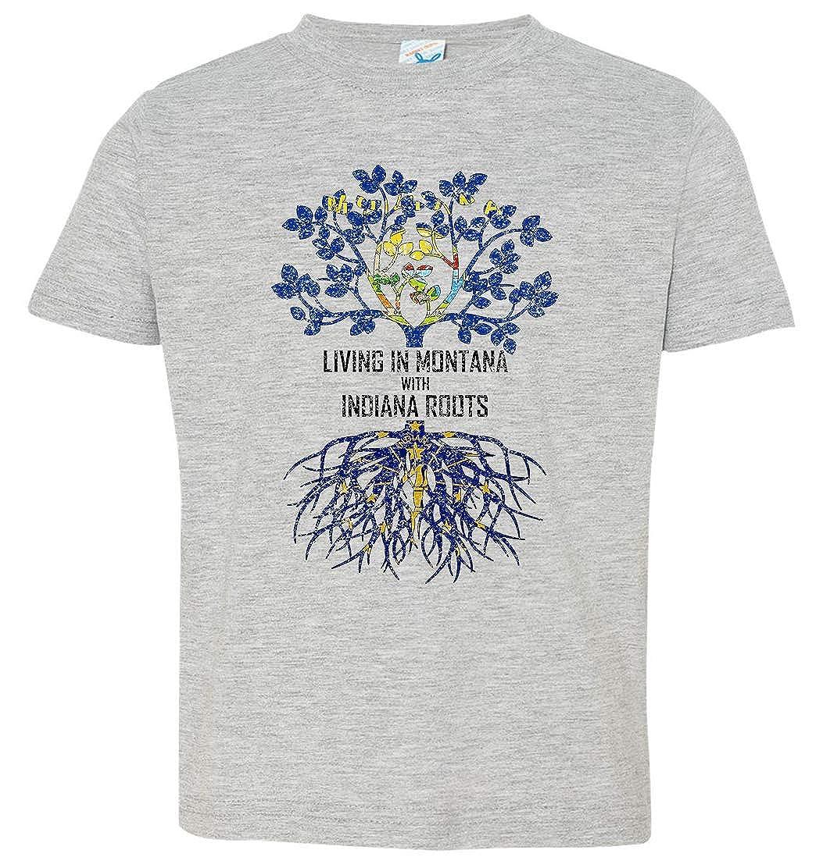 Tenacitee Babys Living in Montana Indiana Roots Shirt