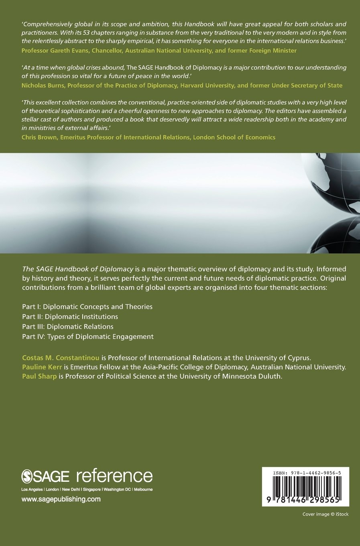 The SAGE Handbook of Diplomacy: Amazon co uk: Costas M